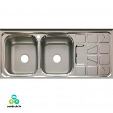 سینک روکار ظرفشویی الماس ابعاد 50*120